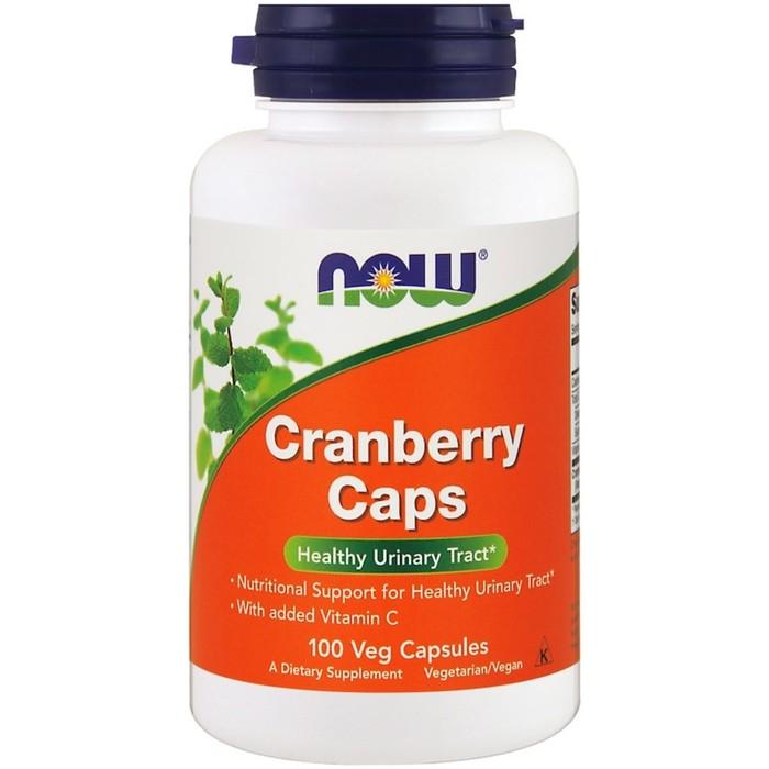Антиоксиданты NOW Кранбери Капс 700 мг, 100 капс