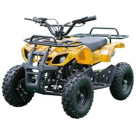 Детский электро квадроцикл MOTAX ATV Х-16 800W, желтый камуфляж Ош