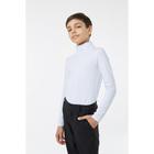 Водолазка для мальчика, рост 128 см, цвет белый 1S6-001-11811