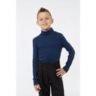 Водолазка для мальчика, рост 122 см, цвет синий 1S6-002-11811