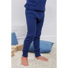 Кальсоны для мальчика, рост 128 см, цвет синий AZ-729
