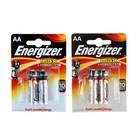 Батарейка Алкалиновая  Energizer Max, AA, LR6-2BL, блистер, 2 шт.