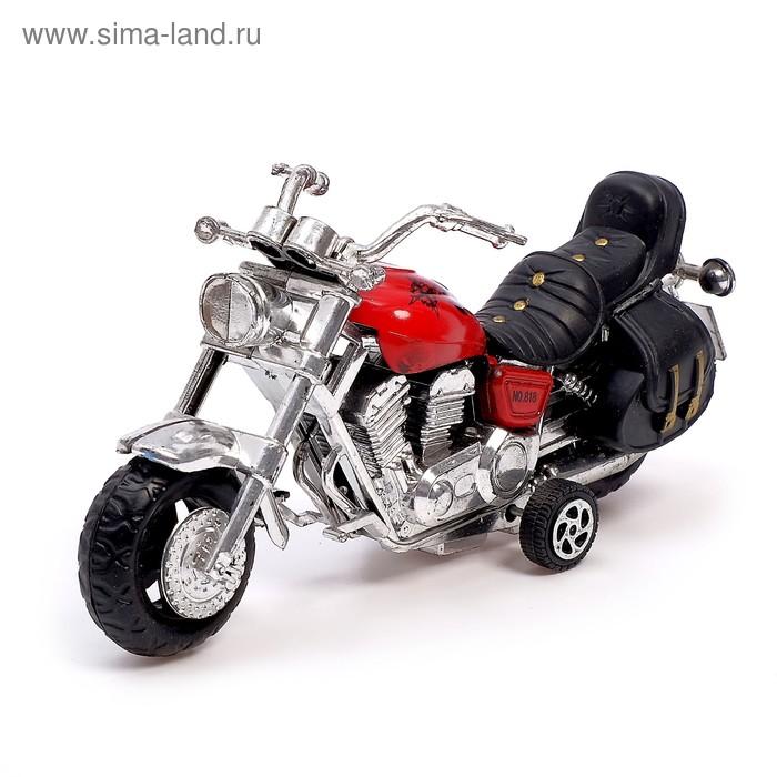 """Мотоцикл инерционный """"Трайк"""", цвета МИКС"""