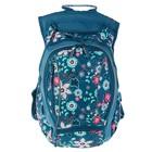 Рюкзак молодежный эргономичная спинка Yes 45*26*20 Spring для девочки, синий 555545