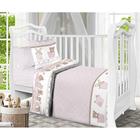 Детское постельное бельё детский Спящие мишки роз. 112х147, 110х150 40х60 см 1 шт, бязь 125 гм