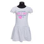 Платье для девочки, рост 110 см, цвет серый DS0034/25