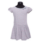 Платье для девочки, рост 122 см, цвет серый DS0035/25