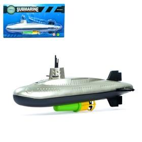"""Лодка """"Субмарина"""", работает от батареек"""
