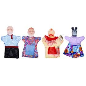 """Кукольный театр """"Курочка Ряба"""", 4 персонажа"""