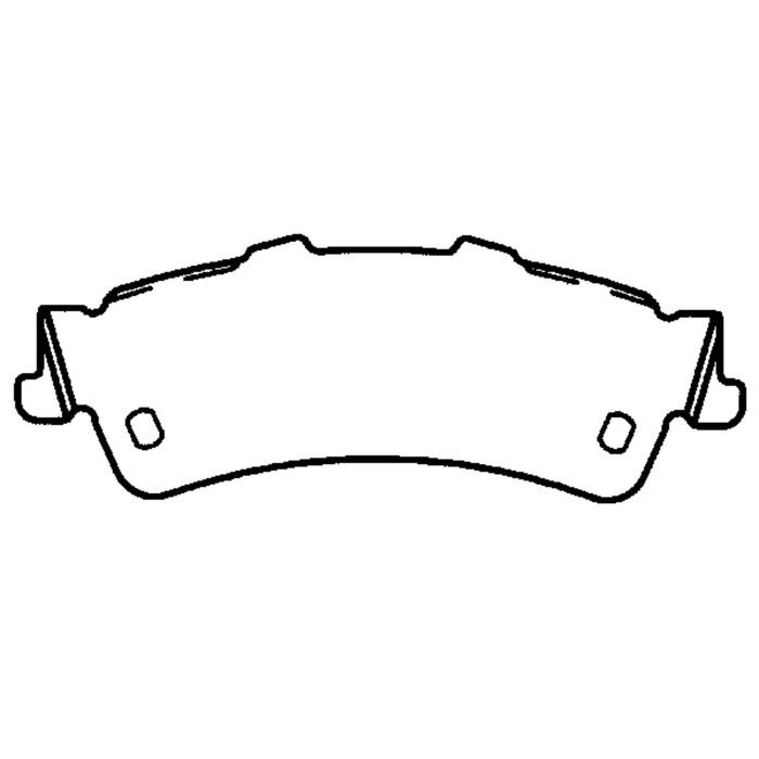Колодки тормозные дисковые, задние, Friction Master ELT792