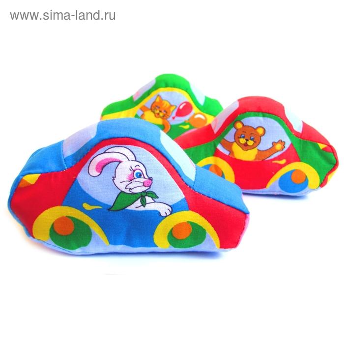 """Развивающая игрушка - машинка """"Весёлые друзья"""", цвета МИКС"""