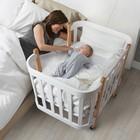 Детская кроватка-трансформер Happy Baby MOMMY, овальная/прямоугольная