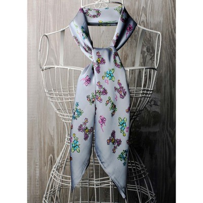 Платок женский, размер  70х70 см, цвет розовый  K0570PL103