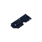 Накладка для навесного замка, с проушиной, L=50 мм, синяя