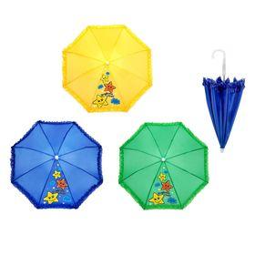 Зонт детский механический 'Звёздочка моя', r=25,5см, цвет МИКС Ош