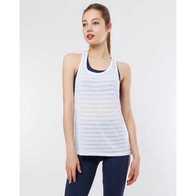 Майка женская спортивная, цвет белый, размер 44 (S)