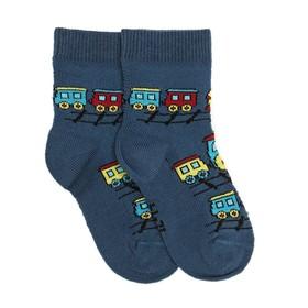 Носки детские НДМ2-2893, цвет джинсовый, р-р 16-18 Ош