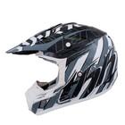 Шлем кросс TX-12 #13 NAZARD, серый, размер L