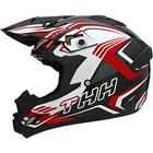 Шлем кросс TX-24, красно-черный, размер L