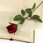 """Цветок искусственный """"Красная роза"""""""