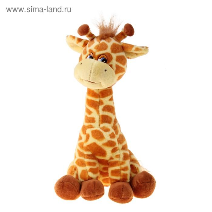 Мягкая игрушка «Жирафик» музыкальная