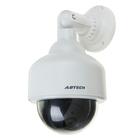 Муляж уличной видеокамеры VM-6, со светодиодным индикатором, 2АА (не в компл.), белый Уценка