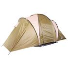 Палатка туристическая MIRAGE 4-х местная, цвет коричневый