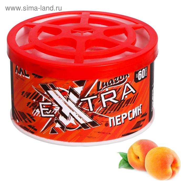 """Ароматизатор под сиденье """"Персик"""", 10 х 6 см"""