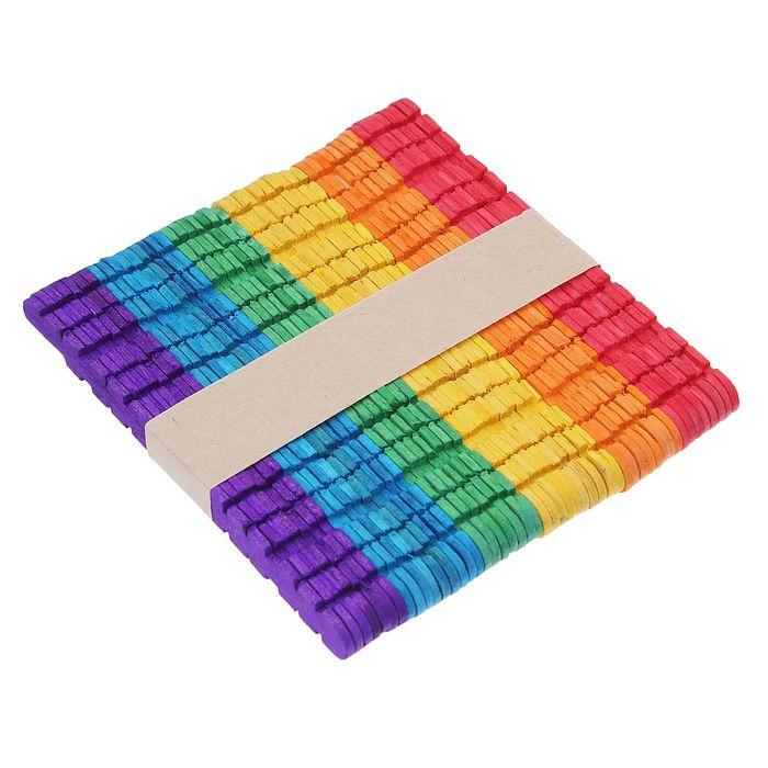 Счетные палочки цветные с резными боками, (набор 50 штук)