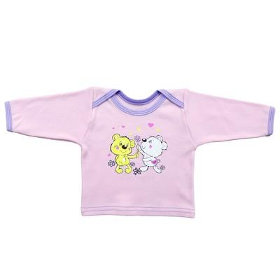 Кофта детская (5 шт. в уп), рост 68 см, цвет розовый 4103