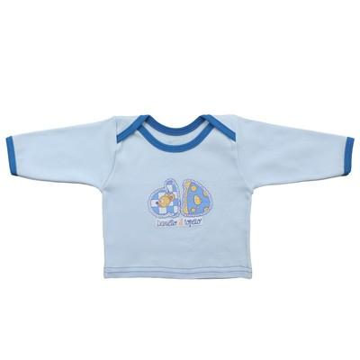 Кофта детская (5 шт. в уп), рост 68 см, цвет голубой 4103