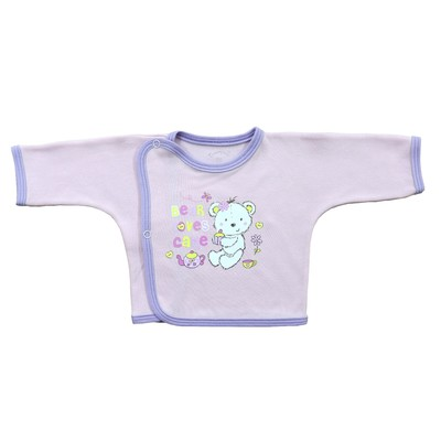 Распашонка детская (5 шт. в уп.), рост 62 см, цвет розовый 5303