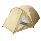 Палатка туристическая TREKKER 3-х местная, цвет зеленый