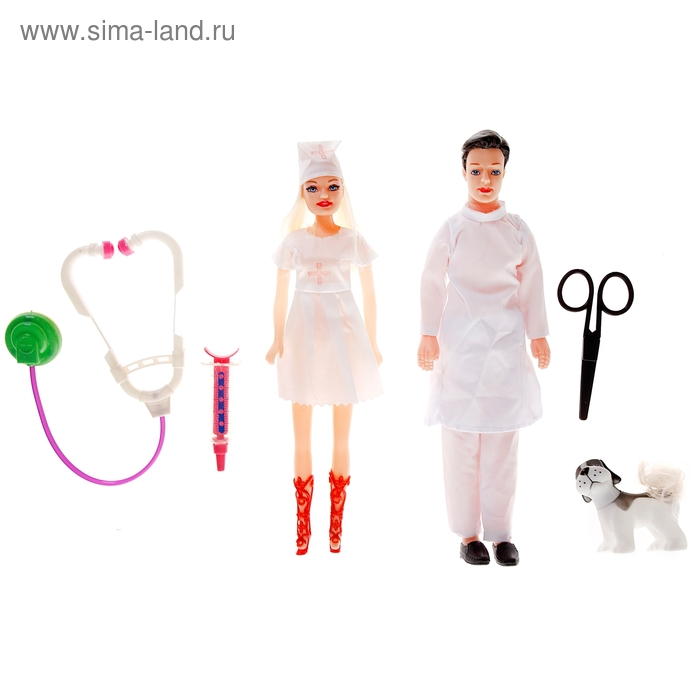 "Кукла набор ""Доктора"" с аксессуарами"