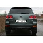 """Защита заднего бампера d 42 """"Volkswagen Touareg"""" 2006-2009, VWTG.75.0596"""