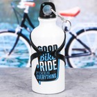 "Бутылка для воды с держателем ""Good bike"", 400 мл"