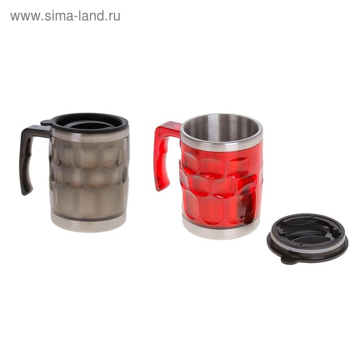 "Термокружка ""Граненая"" 450 мл, цвета МИКС"