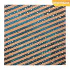 Бумага для скрапбукинга крафтовая с фольгированием «Северное сияние», 20 х 20 см, 300 г/м
