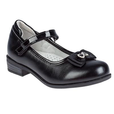 Туфли для девочки арт. SC-21068 (чёрный) (р. 30)