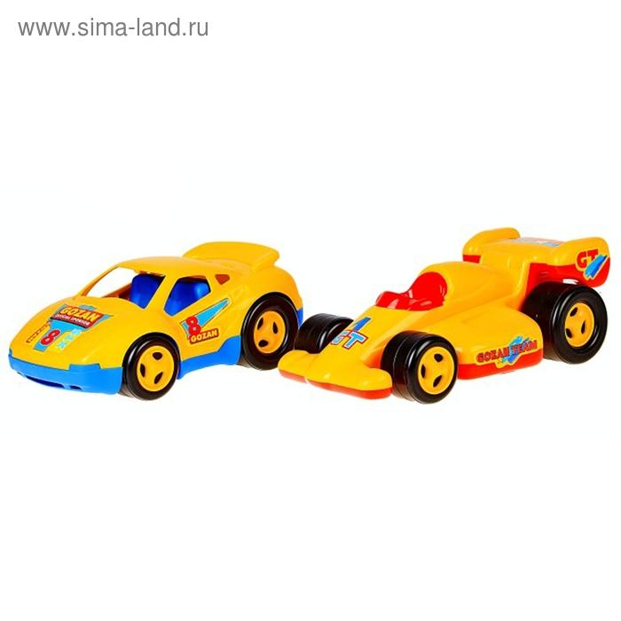 Автомобиль гоночный, цвета МИКС