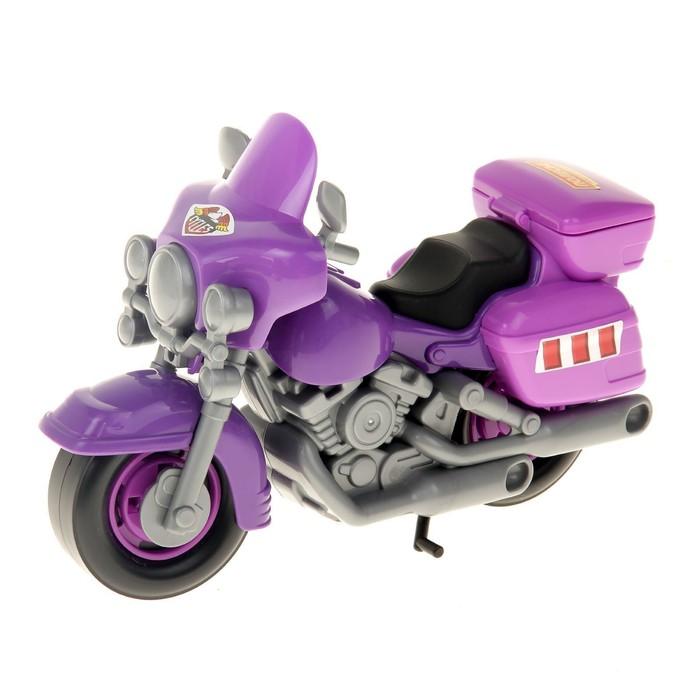 """Мотоцикл полицейский """"Харлей"""", цвета МИКС"""