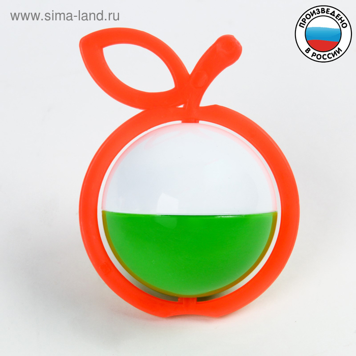 """Погремушка """"Яблоко"""", цвета МИКС"""