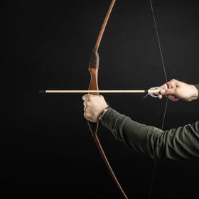 Лук деревянный, подростковый 'Спортивный', коричневый, массив ясеня, 120 см Ош