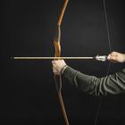 """Лук деревянный взрослый """"Традиционный"""", коричневый, массив ясеня, 170 см"""