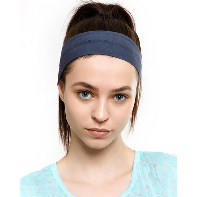Повязка на голову женская 1866-5 (212003) цвет тёмно-синий, р-р 56