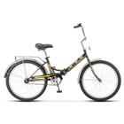 """Велосипед 24"""" Stels Pilot-710, Z010, цвет чёрный/желтый, размер 16"""""""
