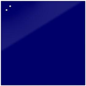 Доска магнитно-маркерная стеклянная 100 100 LUX, внутр крепл, цв яркий синий ec29b5a4a58