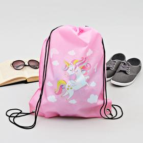 Сумка-рюкзак для обуви 'Единорог', 43 х 38 см Ош