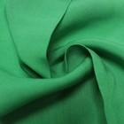 Ткань плательная, штапель, ширина 150 см, зелёный