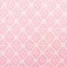 Ткань плательная, штапель набивной, ширина 150 см, розовый